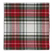 Holiday Plaid Napkins - Set of 4