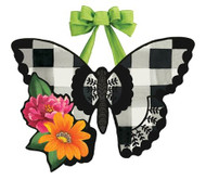 Butterfly Check Door Decoration
