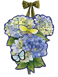 Hydrangea Door Decoration