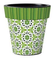 Green Petal 15 inch Art Planter