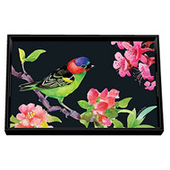 Bird Song Vanity Decoupage Tray