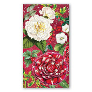 Christmas Floral Hostess Paper Napkins