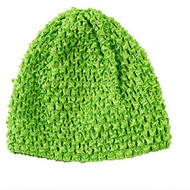 Toddler Light Green Crochet Hat