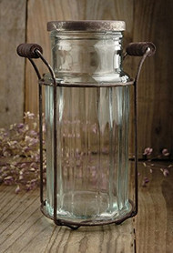Potpourri Jar with Holder