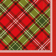 Plaid Luncheon Paper Napkins