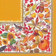 Autunno Bellino Luncheon Paper Napkins
