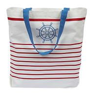 Maritime Printed Tote Bag