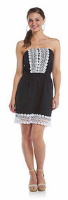 Mud Pie Bliss Dress Black - Large