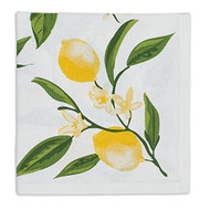 D.I.D. Lemon Printed Cloth Napkins - Set of 4