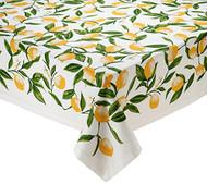 """D.I.D. Lemon Printed 60"""" x 84"""" Tablecloth"""