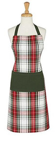 D.I.D. Plaid Apron