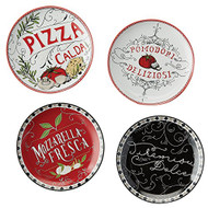 Italiano Bistro Appetizer Plates - Set of 4