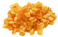 Glazed Orange Peel Diced - 1 pound
