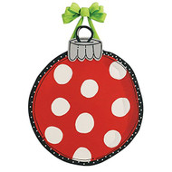 Red Ornament Door Decoration