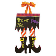 Tricker Feet Door Decoration