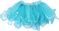 Sequin Trimmed Tutu Skirt, Costume Blue ,3-12 Months
