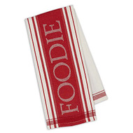 Red & White Stripe Dishtowel