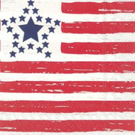 Distressed Flag Luncheon Paper Napkins