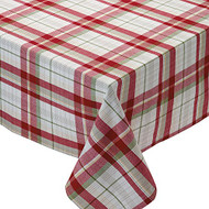 "Orchard Plaid Tablecloth 60"" x 84"""