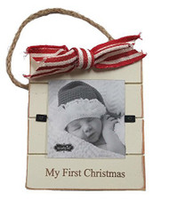 "Mud Pie ""My First Christmas"" Door Hanger Frame"