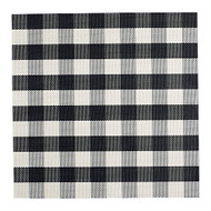 D.I.D. Black & White Checker Placemat - Set of 4