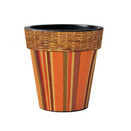 "Harvest Stripr 15"" Art Planter"