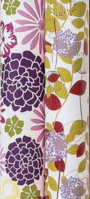 Stone Wrap Purple Floral Patterns Gift Wrap - Set of 2