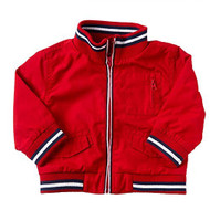 Baby Boys Red Baseball Style Jacket