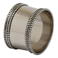 Silver Napkin Rings - Set of 4