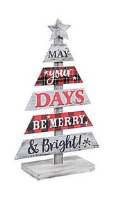 SAFA Merry and Bright Slotted Tree, Christmas Decorations