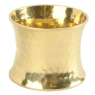 Gold Hammered Napkin Rings
