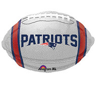Mylar, New England Patriots, NFL Balloon, Football, Superbowl, Set of 3