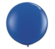 "Qualatex 36"" Sapphire Blue Latex Balloon"