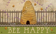 Bee Skep Welcome MatMate