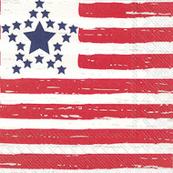 Celebrate the Home Patriotic 3-Ply Paper Luncheon Napkins, 20-Count, Distressed Flag