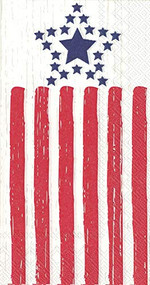 2 packages Distressed Patriotic Hostess Paper Napkin 32 count