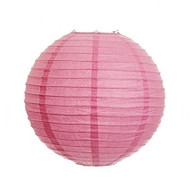 "Petal Pink 14"" Paper Lanterns - Set of 2"