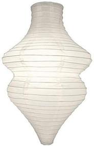 White Beehive Paper Lantern Set of 2