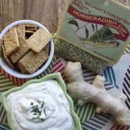 Horseradish and Ranch Dips (1 each), party dip, dill dip,