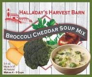 Broccoli Cheddar Soup Mix 2 Pack - Easy to Make Soups - Ready to Cook Soups