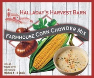 Farmhouse Corn Chowder Soup Mix 2 Pack - Easy to Make Soups - Ready to Cook Soups
