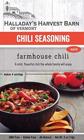 Farmhouse Chili and Firehouse Chili Seasoning Mix 2 Pack (1 each) - Easy to Make Chili - Ready to Cook Chili