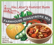 Farmhouse Minestrone Soup Mix 2 Pack - Easy to Make Soups - Ready to Cook Soups