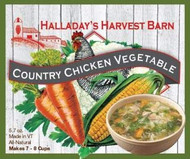 Country Chicken Vegetable Soup 2 Pack - Easy to Make Soups - Ready to Cook Soups