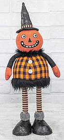 SAFA Pumpkin Bobble Orange Plaid