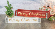 SAFA Engraved Bin, RED BIN ONLY, Christmas Decorations,