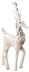 Small Prancing Deer Figurine