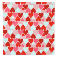 Hearts Napkins - Set of 4