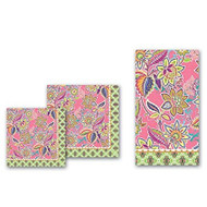 Michel Design Works Party Pink Floral Luncheon Paper Napkins