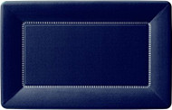 """9"""" Cafe Paper Plate - Navy 1"""